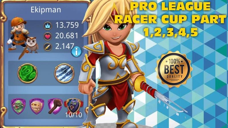 Royal Revolt 2 l Pro League Racer Cup Part 1,2,3,4,5