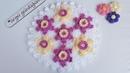 Yıldız teknigi çiçeği lif modeli yapımı