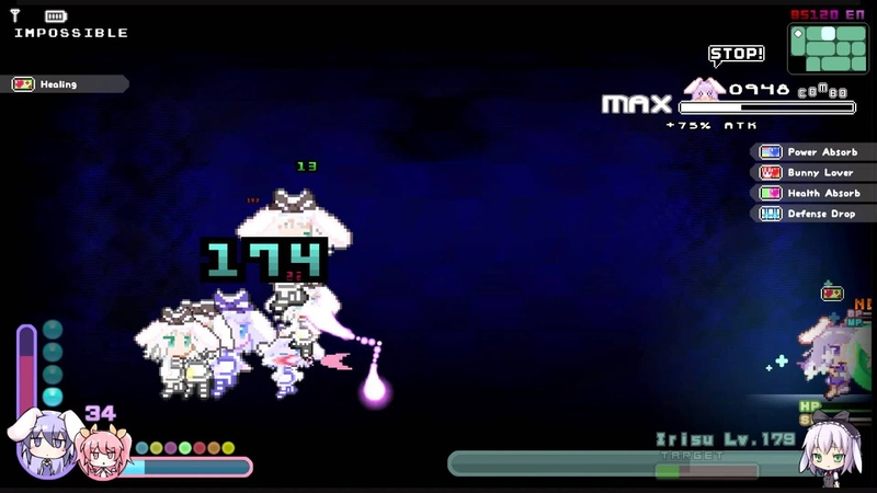 Rabi-Ribi Irisu Impossible mode