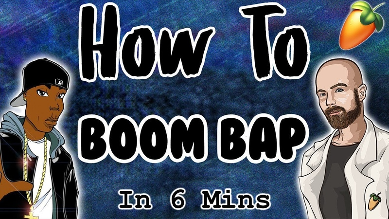 From Scratch: A Boom Bap Song in 6 Minutes   FL Studio Tutorial 2018
