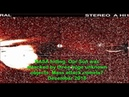 NASA hiding. Our Sun was attacked by three huge unknown objects. Mass attack comets? December 2018