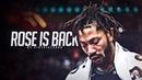 Derrick Rose - I'M BACK - EMOTIONAL Mini Movie (2018-19 Highlights)