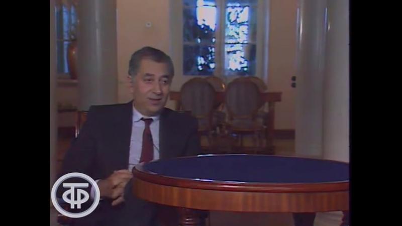 Композитор Георгий Мовсесян в программе Детектив Лэнд (1993)