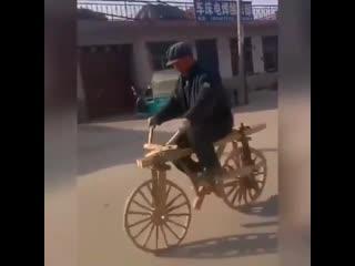 Я буду долго гнать велосипед ...