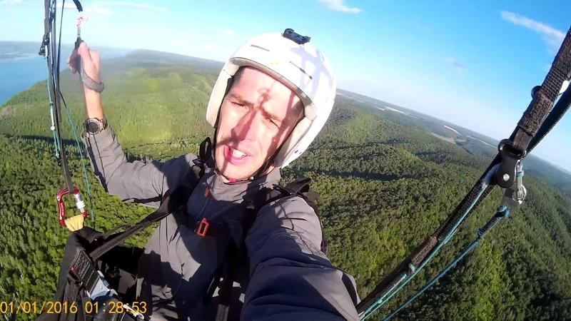 Моркваши, 14 августа 2018, полёт на параплане.