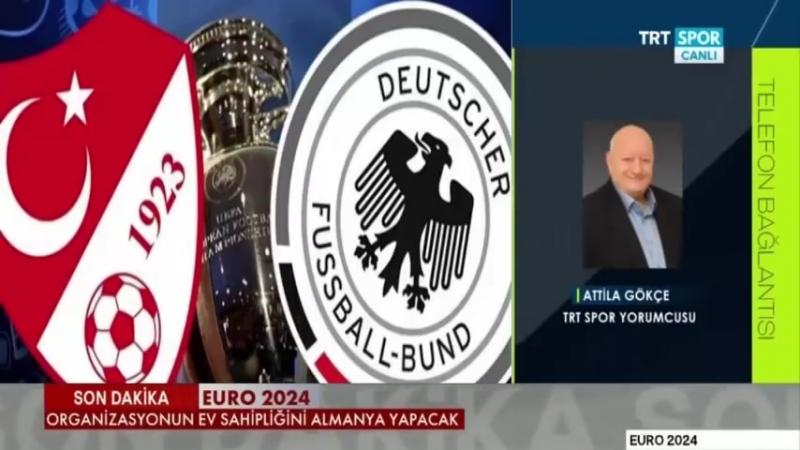 Cem Dizdar EURO 2024ün Almanyaya verilmesini değerlendirdi