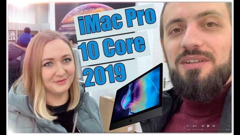 ЖЕНА ПОДАРИЛА КОМП ЗА 1,000,000 РУБЛЕЙ iMac Pro 10 Core 2019 🖥Re Store ru | Фирменый магазин