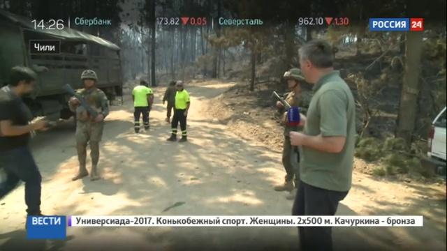 Новости на Россия 24 Спасение Чили местные жители ликуют при виде Ил 76