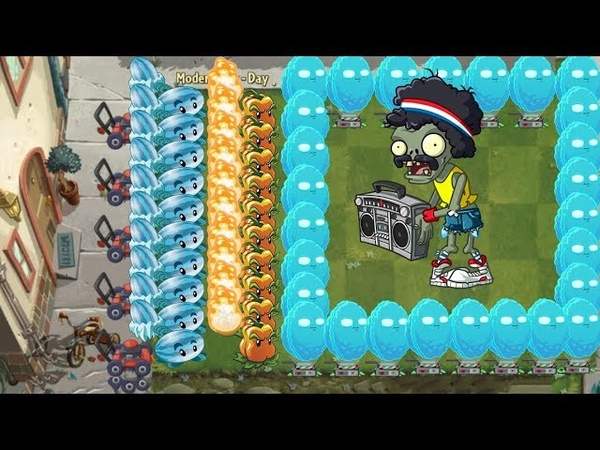Plants vs Zombies 2 - Winter Melon, Snapdragon, Pepper Pult