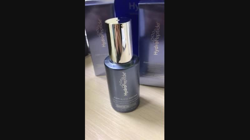 Firm-A-Fix Nectar Hydropeptide Уникальная уплотняющая и подтягивающая сыворотка для шеи и декольте 2