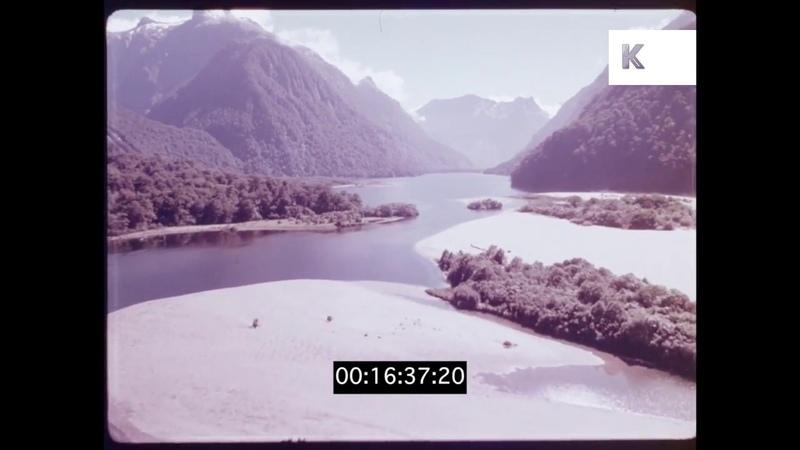 Stunning New Zealand Aerials, HD from 35mm