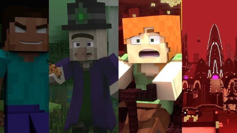 A Minecraft Movie - A Minecraft Tale Full Series: Top 10 Animations
