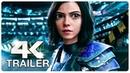 ALITA BATTLE ANGEL Final Trailer (4K ULTRA HD) NEW 2019