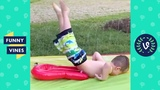 TRY NOT TO LAUGH or GRIN - Best KIDS WATER FAILS Compilation Funny Vines 2018
