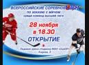 В Мончегорск возвращается большой хоккей! 28 ноября в Мончегорске начнутся игры Всероссийских соревнований по хоккею с мячом сре