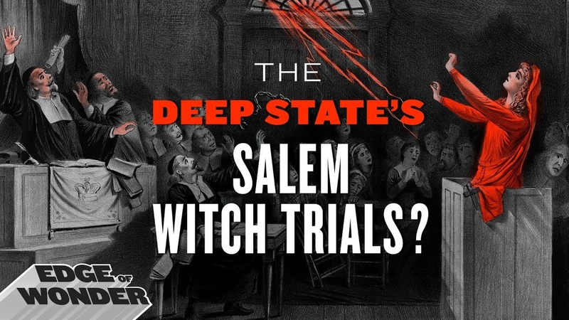 Deep State's Salem Witch Trials. Occult Magic Horror Story no-one is telling. Halloween [PART 1/2]