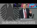 Klasse Rede von Armin-Paulus Hampel (AfD) zu Seenotrettung 😉: Linker Michel Brandt flippt aus