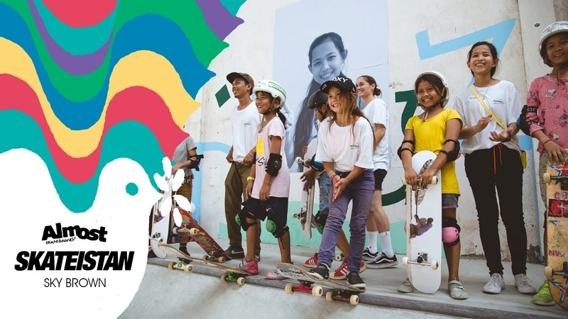 Almost Skateboards x Skateistan w Sky Brown | Empowering The Youth Through Skateboarding World Wide