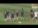 Se prepara Real Madrid para Liga de Campeones