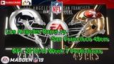 Los Angeles Rams vs. San Francisco 49ers NFL 2018-19 Week 7 Predictions Madden NFL 19