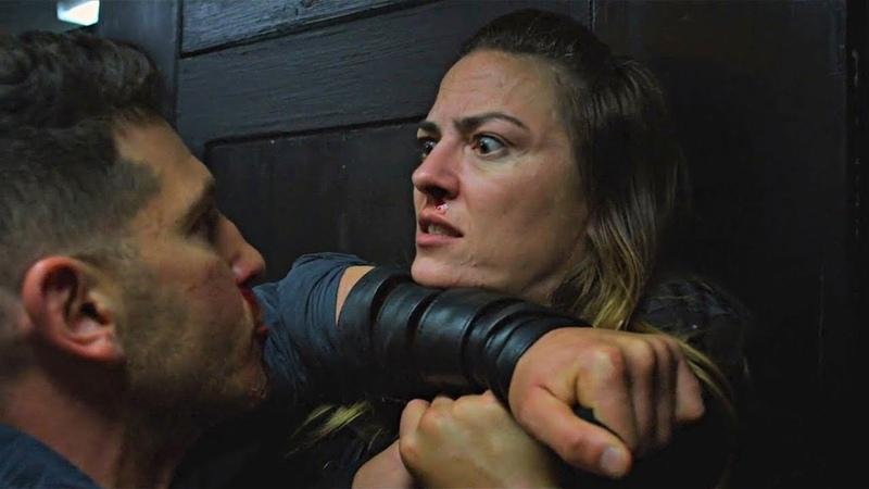 Punisher Bathroom Fight [Season 2 Scene] 2x01 Netflix (HD)