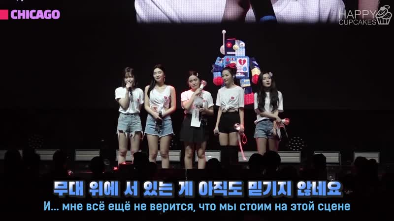 190605 Red Velvet North American Tour @ Eye Contact Cam S3 EP.1 (рус.саб)