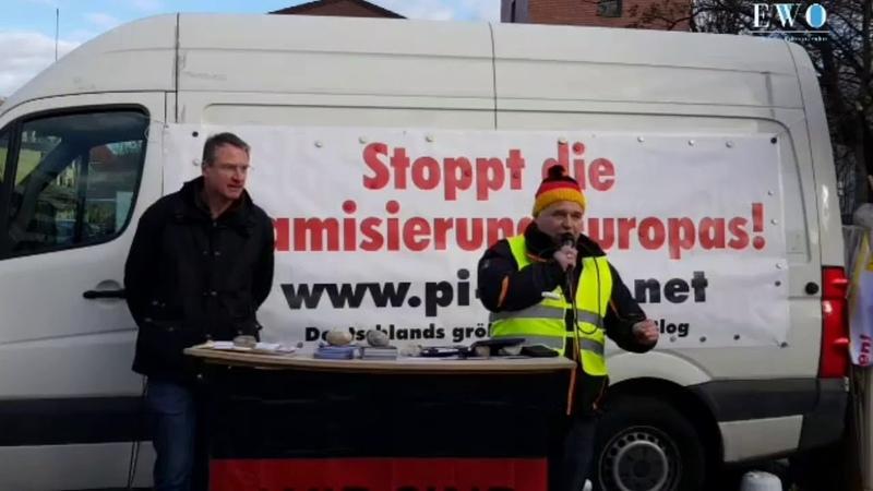 Wir wollen, dass auf den Willen des Volkes gehört wird - Stürzenberger Tegetmeyer Pegida München