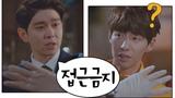 윤균상(Yun Kyun Sang), 옥탑 변태(송재림Song Jae-lim)에게