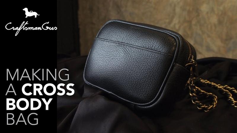 Making Cross Body Bag LeatherAddict EP42
