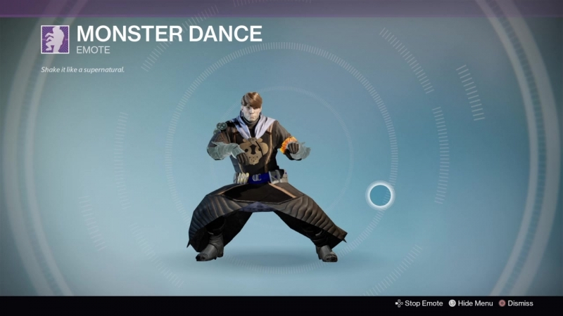 Destiny_20180129 BLACK WARLOCK . MONSTER DANCE .