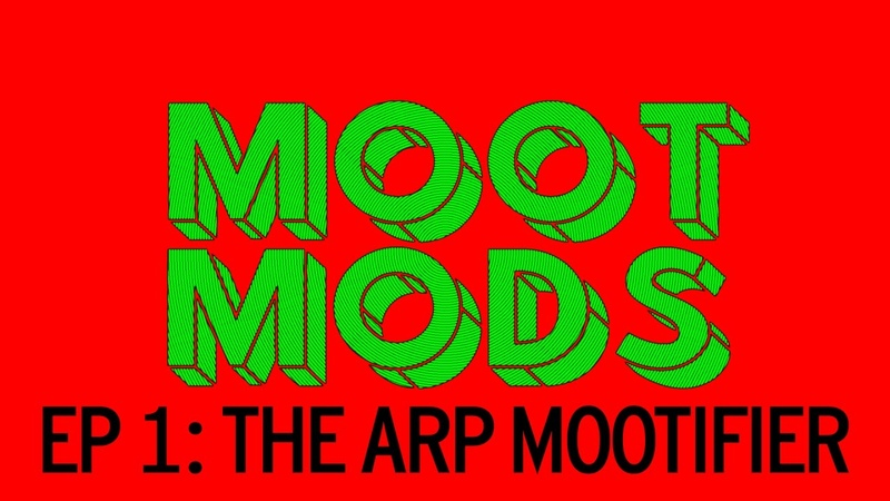 MOOT MODS 1 Mootifying the ARP Odyssey