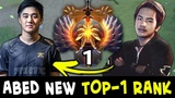 Abed new TOP-1 RANK stolen from InYourDream new SEA king