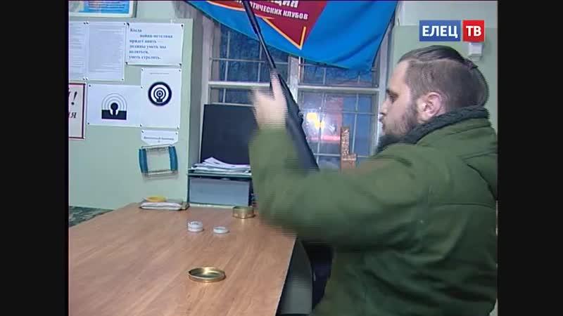 На огневом рубеже военно-патриотический клуб «Ельчане» принял участие в акции «Ворошиловский стрелок»