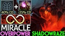 Miracle- [Shadow Fiend] 65% Cooldown Reduction Imba Spam Shadowraze 7.19 Dota 2