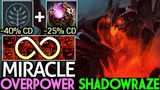 Miracle- Shadow Fiend 65 Cooldown Reduction Imba Spam Shadowraze 7.19 Dota 2