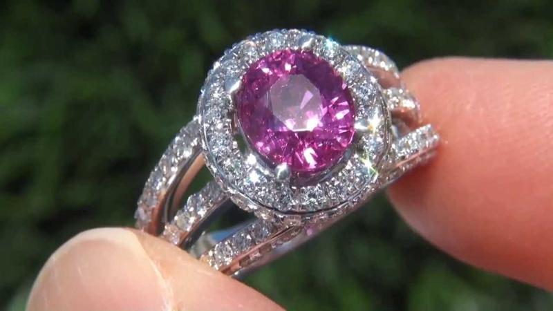 GIA Estate 5.72 ct UNHEATED Natural Ruby Diamond 18k White Gold Vintage Ring GEM