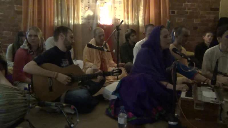 Снежана Крупчанская - Киртан - KIRTAN MOSCOW 29.12.2013