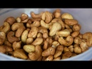 Cashew Kerne selber rösten und würzen