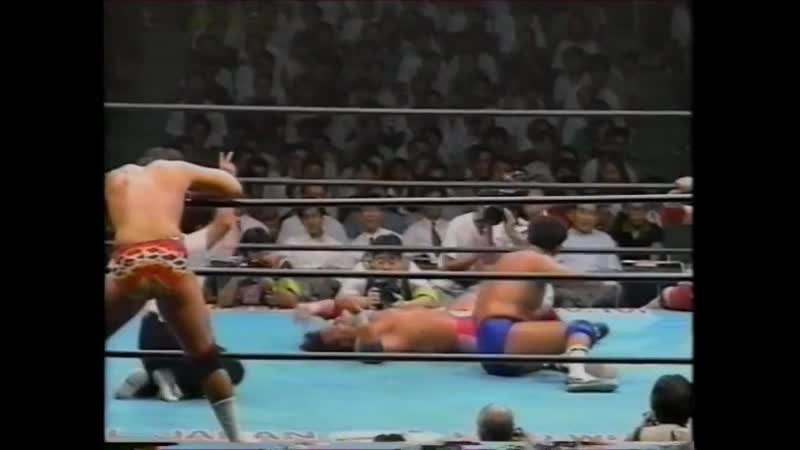 1994.08.13 - NTV All Japan Pro Wrestling Relay