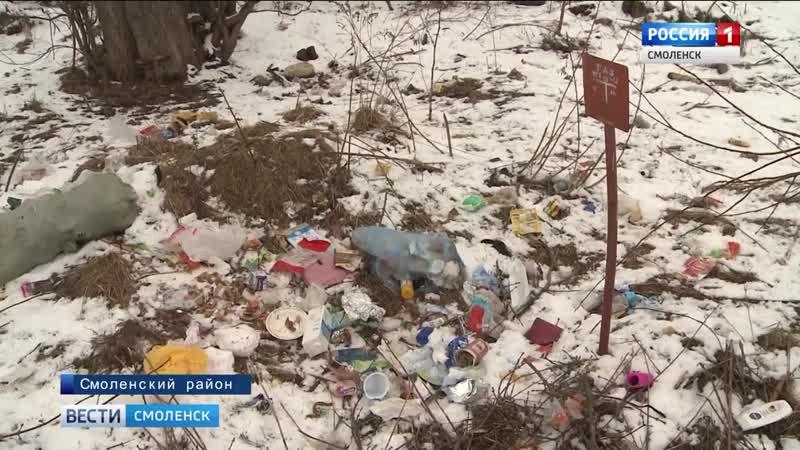 Смоляне продолжают жаловаться на плохо организованный вывоз мусора