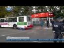В Орле в результате наезда троллейбуса на автобусную остановку погибли три человека
