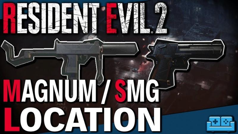 RESIDENT EVIL 2 REMAKE | MAGNUM SMG LOCATION GUIDE
