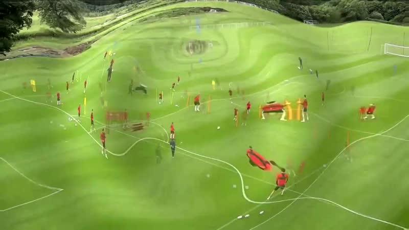 Контроль мяча, взаимодействие с партнерами 2