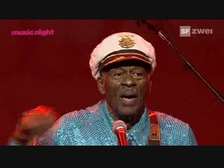 Chuck Berry - AVO Session, Basel: 13-11-2007