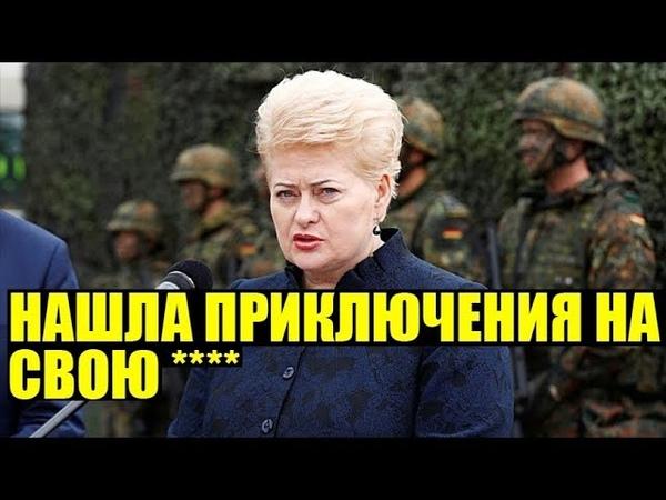 Литва ввела санкции против России из-за инцидента в Керченском проливе
