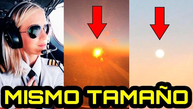 Piloto demuestra que el Sol y la Luna tienen el MISMO TAMAÑO