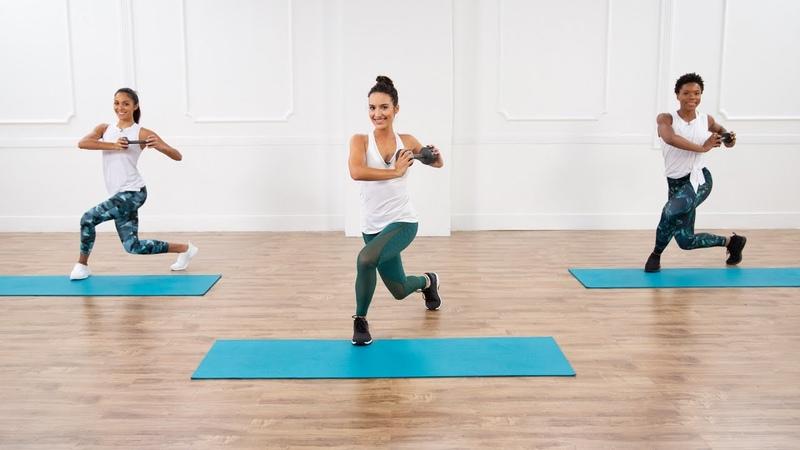 30 минутная тренировка для сильных ног и кора 30 Minute Strong Legs and Core Workout
