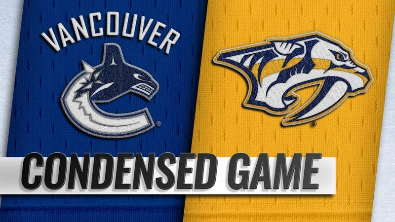12/13/18 Condensed Game: Canucks @ Predators