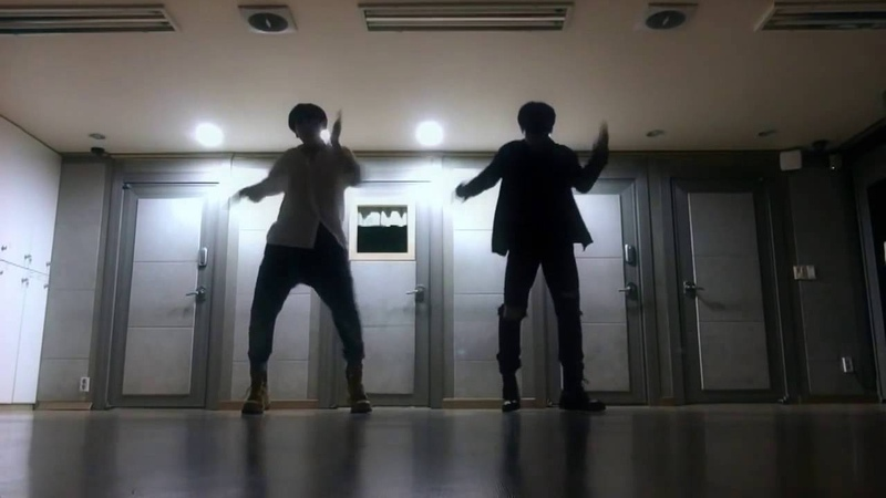 Jimin And JungKook Dance Practice Mirror 'Own it' choreography by Brian puspose