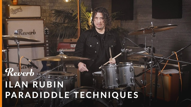 NIN Drummer Ilan Rubin's Extended Paradiddle Warmup Routine Reverb Learn To Play